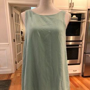 Mint Green backless dress